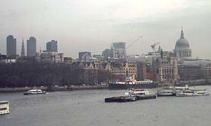 View of London from Waterloo Bridge