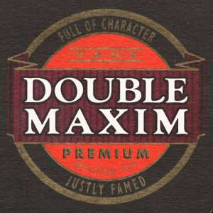 Double Maxim beermat from 1999.